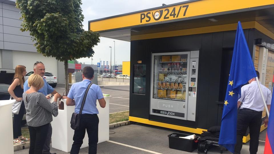 Avtomatizacija Pošte Slovenije: na Rudniku odpirajo prvi samopostrežni kiosk na prostem