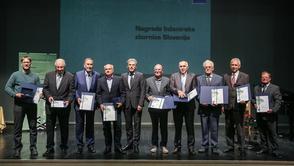 To so letošnji nagrajenci Inženirske zbornice Slovenije