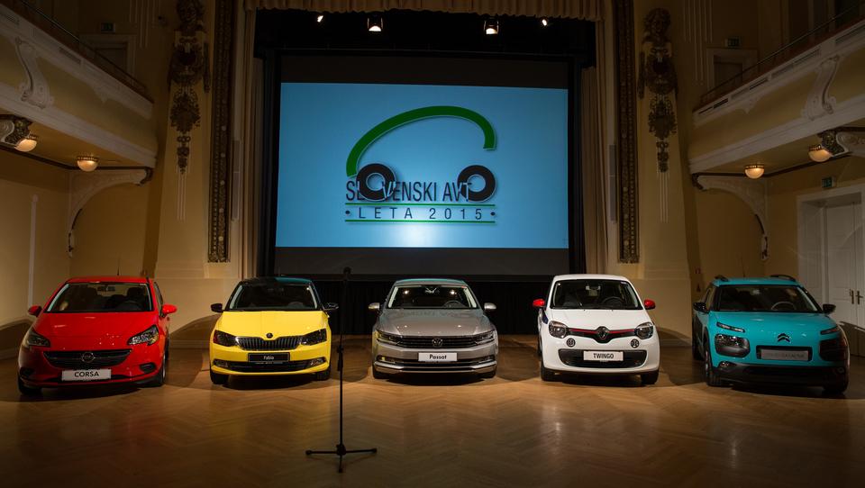 Kako si je škoda fabia priborila naziv slovenski avto leta 2015