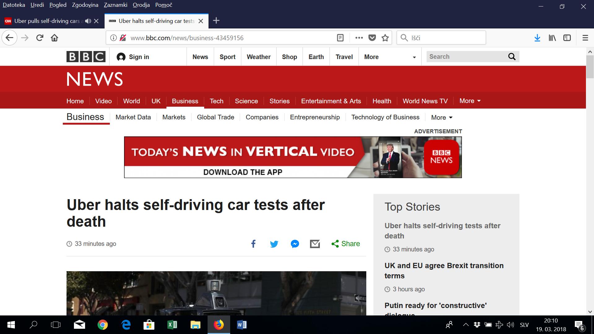 (video) Samovozeči Uber povzročil nesrečo s smrtnim izidom
