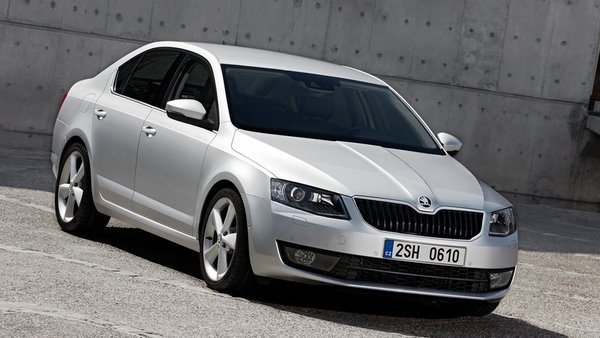 Škoda octavia je slovenski avto leta 2014
