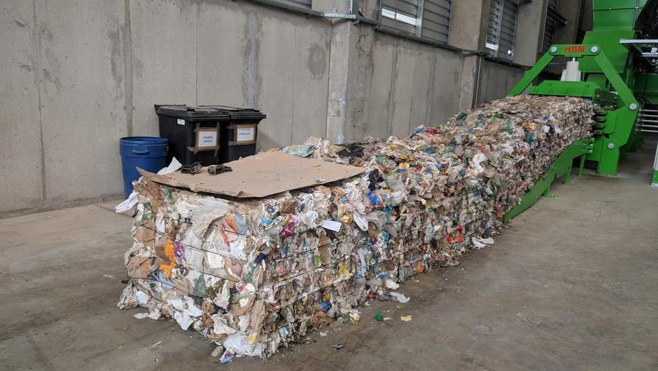 (foto) Mariborska sortirnica odpadkov, ki sodi med top 3 v Evropi