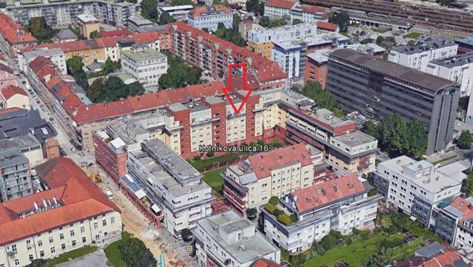 Ustavno sodišče stanovanje v Ljubljani prodalo za 245 tisoč evrov