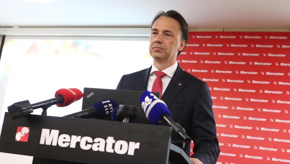 Tomislav Čižmić pojasnil 184,4 milijona evrov visoko Mercatorjevo izgubo: 'Boljši smo kot lani!'