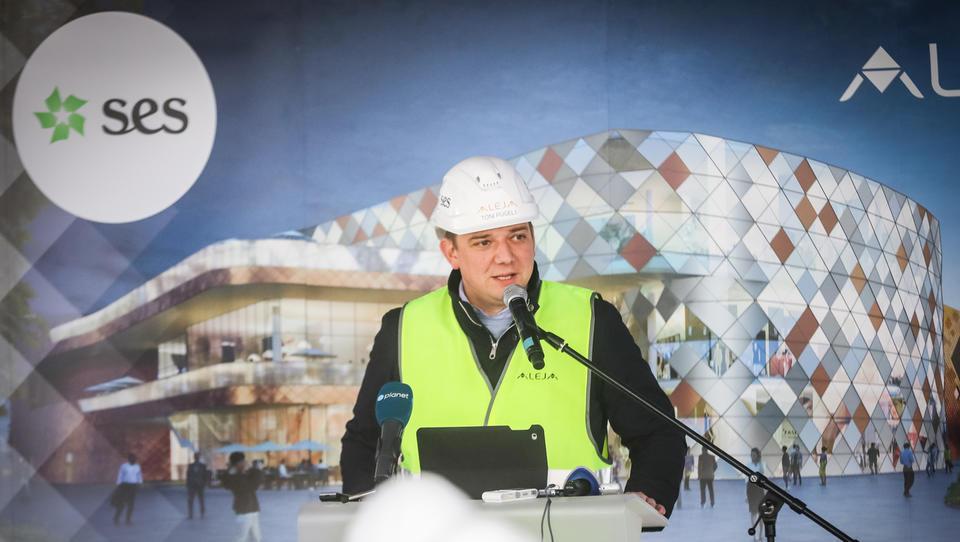V Šiški raste nakupovalno središče Aleja, obljubljajo 700 novih služb