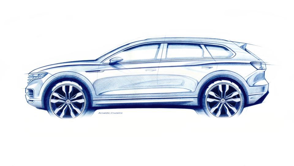 To so obrisi novega, digitaliziranega VW touarega