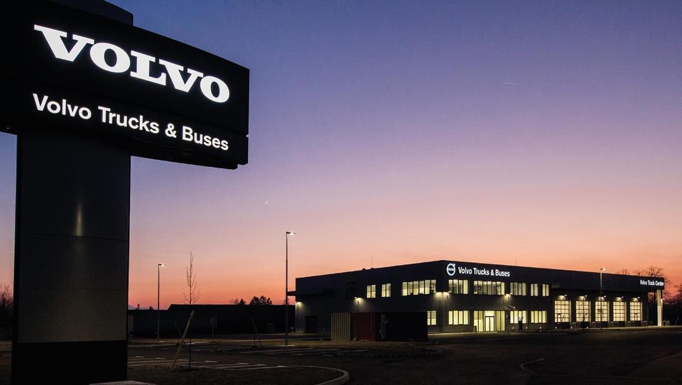 Volvo Trucks je vložil šest milijonov evrov v novo stavbo v še neodkritem delu Ljubljane