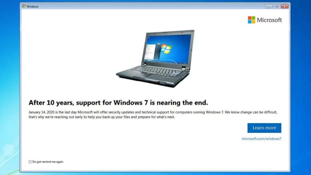 Še vedno uporabljate Windows 7? Čez pol leta boste ostali brez podpore in posodobitev.