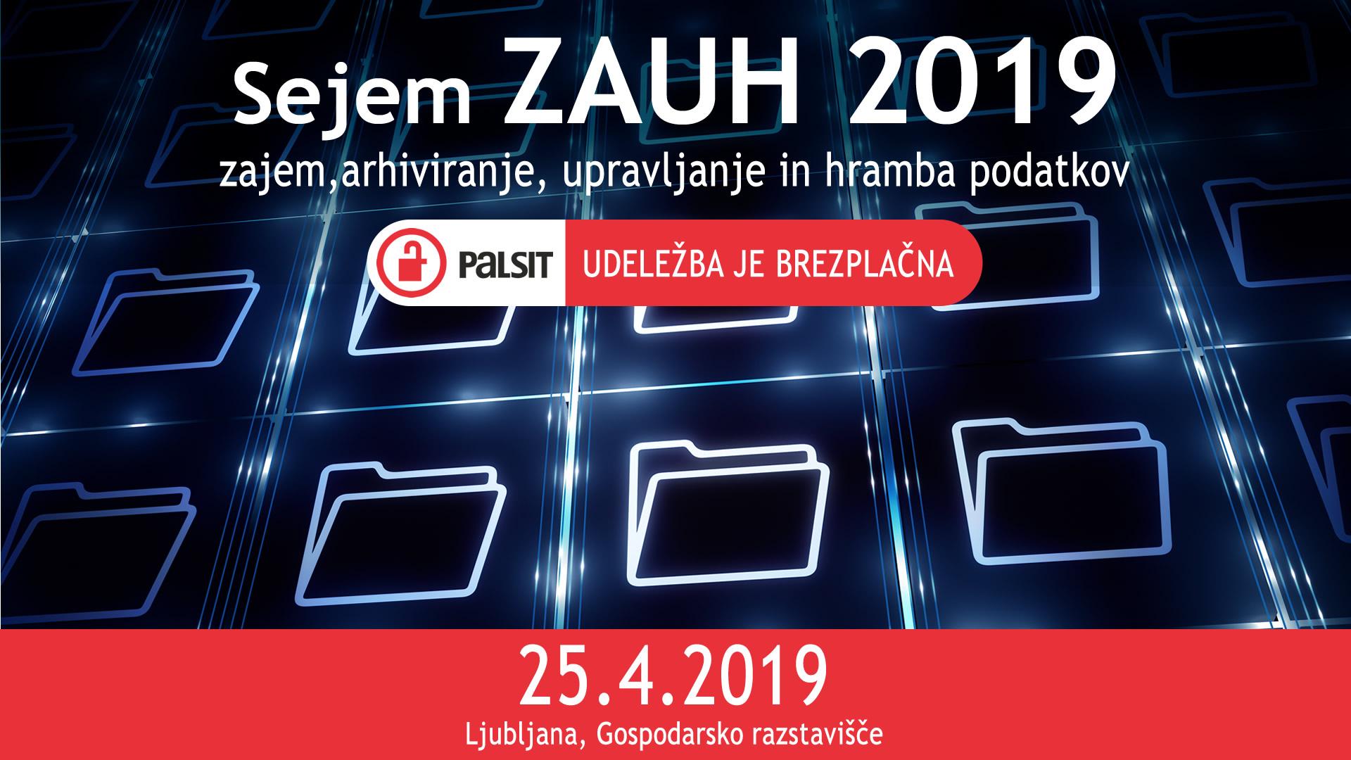 ZAUH 2019: vse o e-poslovanju, e-arhiviranju, varstvu podatkov in novih tehnologijah
