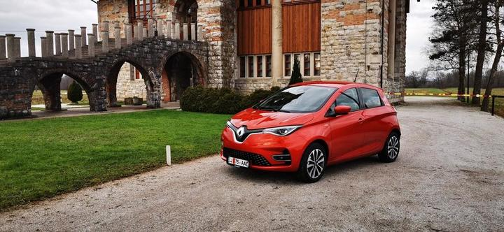 Renault zoe, foto: Milos Milac