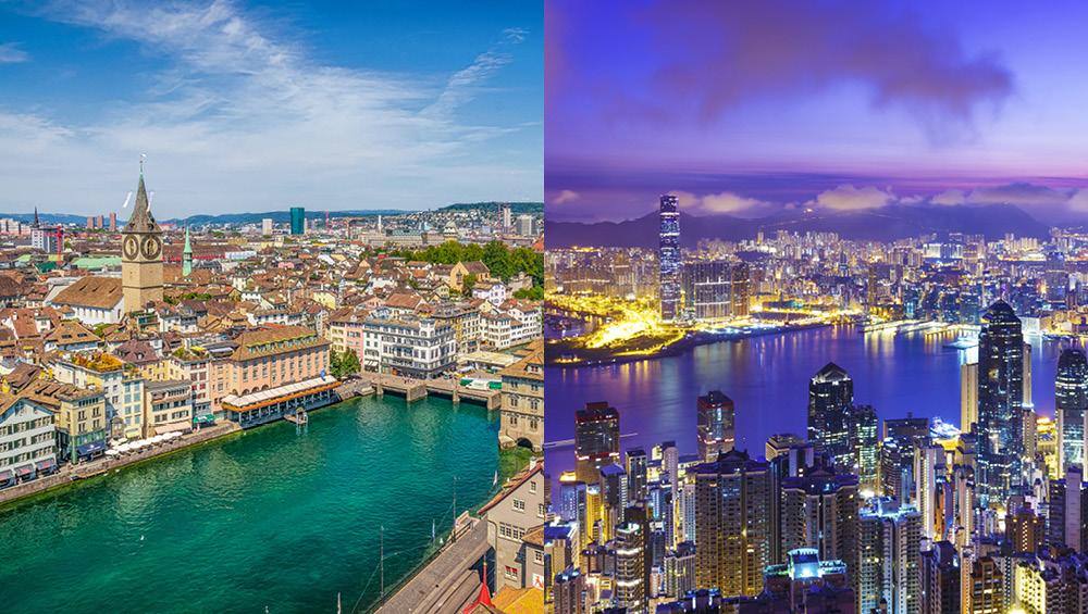 (Cene nepremičnin po svetu) Švicarji uspeli ustaviti napihovanje balona, v Hongkongu pa so jim vsi tovrstni poskusi spodleteli