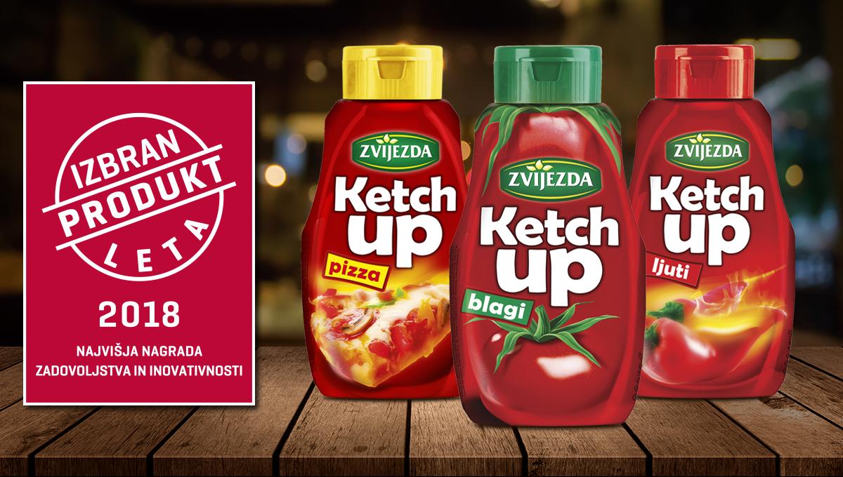 Zvijezda ketchup – Izbran Produkt leta 2018!