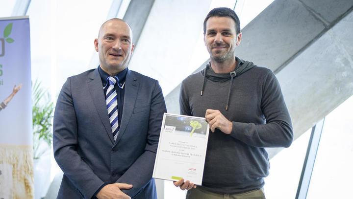 Ekokmetija Vegerila in podjetje Termodron sta zmagovalca prvega natečaja Agrobiznis hi-tech