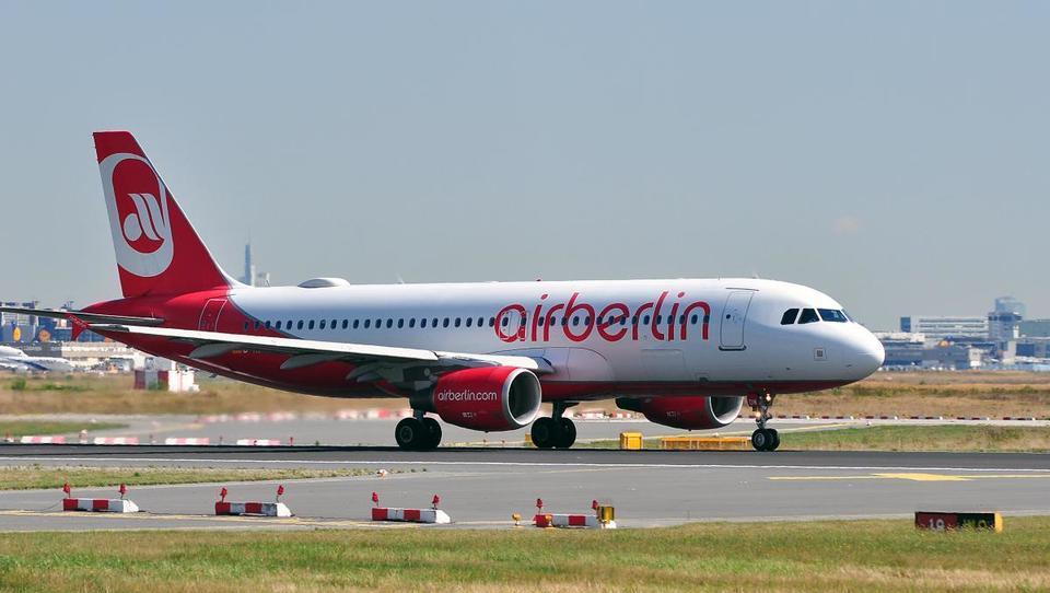 Nemčija rešuje svojega drugega največjega letalskega prevoznika Air Berlin