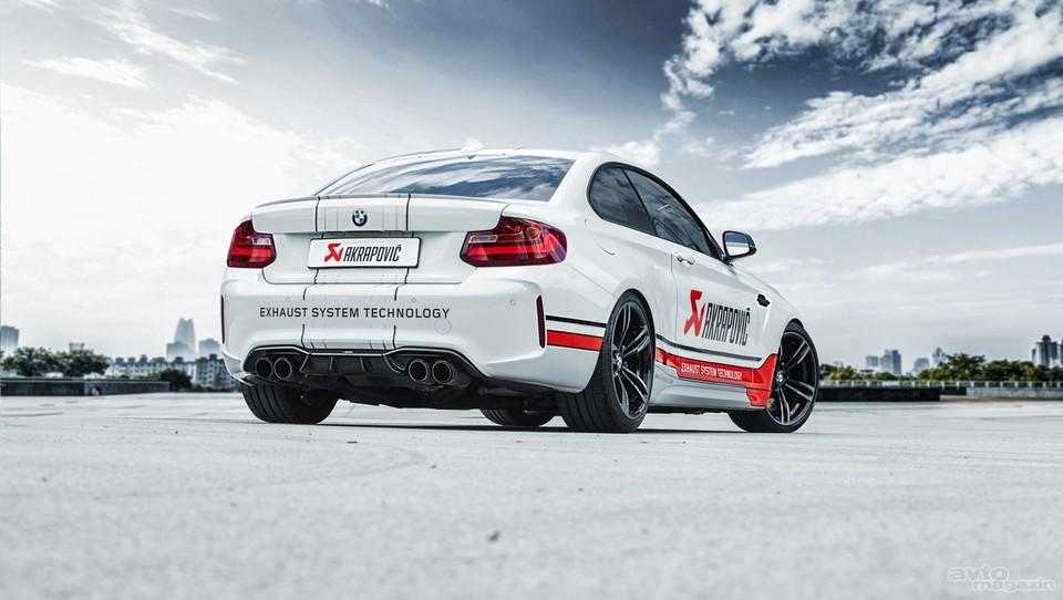 Akrapovič za BMW M2 pripravil paket dodatkov iz ogljikovih vlaken