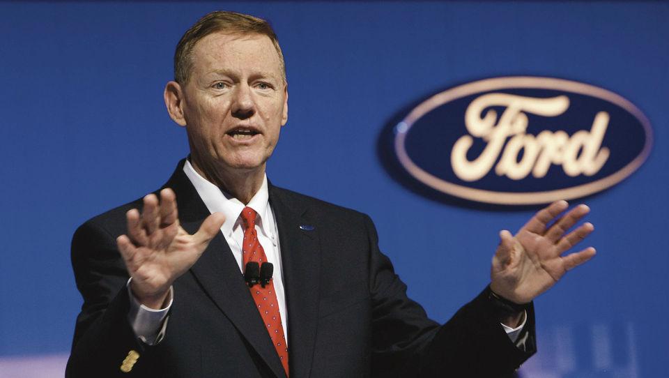 Sprememba na samem vrhu Forda