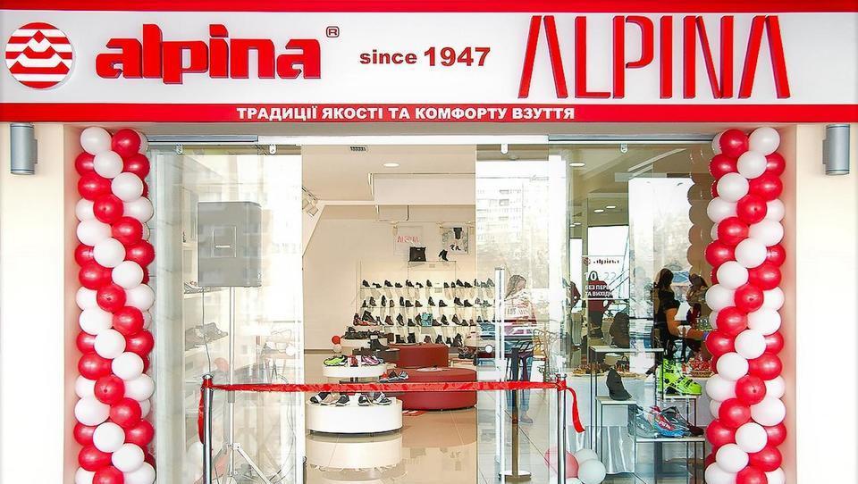 Alpina v Ukrajini odprla prvo franšizno trgovino