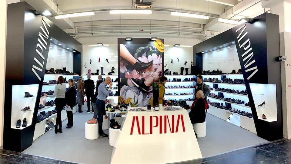 Alpina z znamko Peko na sejmu v Milanu