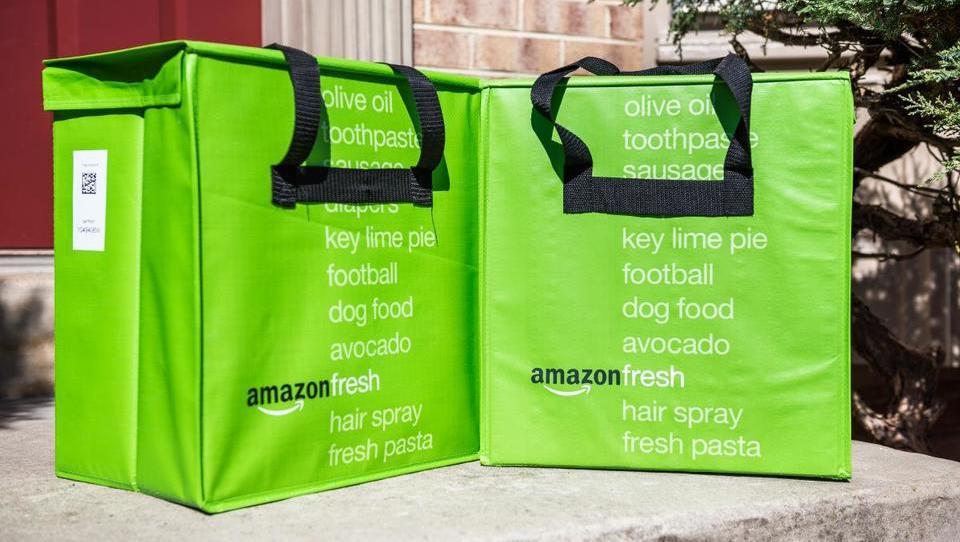 Prek Amazona je v Nemčiji po novem mogoče kupiti tudi špecerijo