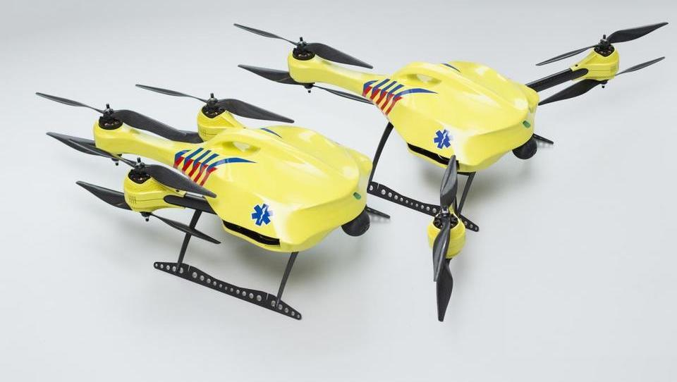 Defibrilatorji na dronih