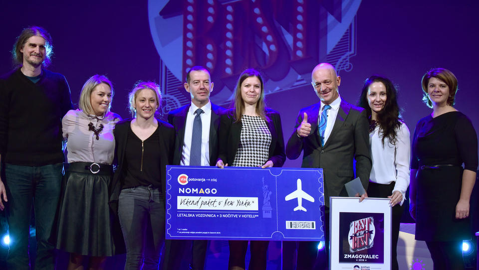 Zmagovalec Best of the Best 2018, AmCham Slovenija, je Droga Kolinska