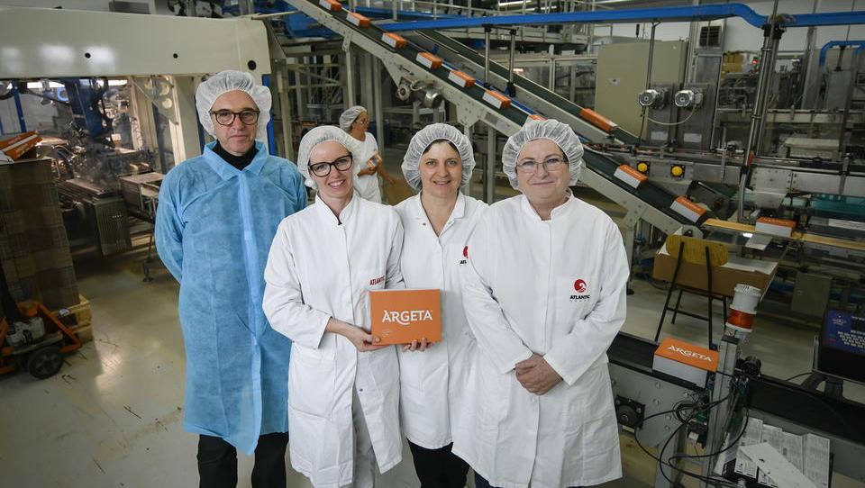 Argeta v tovarni v Izoli v dveh desetletjih s 6 na 28 okusov