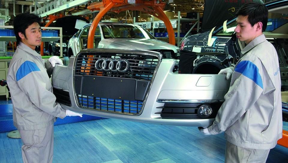 Kitajska zaradi monopola s kaznijo nad Audi in Chrysler