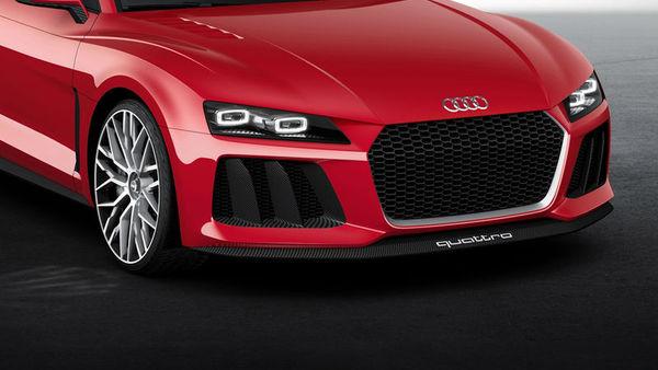 Audi z laserskimi lučmi razsvetljuje Las Vegas
