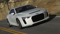 Audi quattro bo zapeljal na ceste
