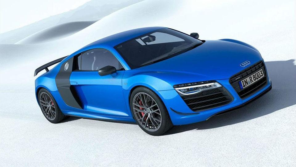 Audi bo z maloserijskim R8 utrl pot laserskim žarometom
