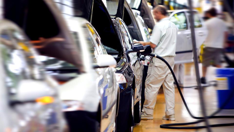 Evropski proizvajalci vozil borzni hit začetka leta