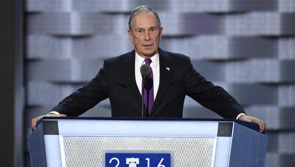 Michael Bloomberg razmišlja o predsedniški kandidaturi 2020