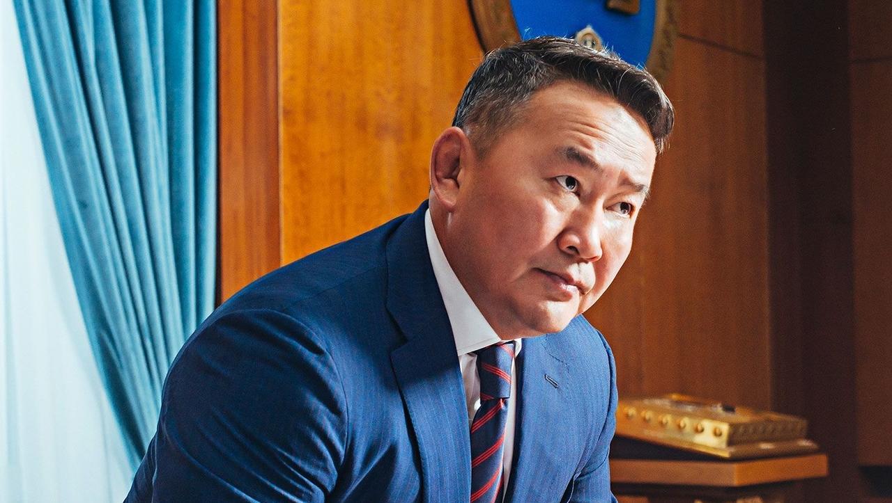 Mongolski predsednik je stepski Trump, ki obožuje Džingiskana