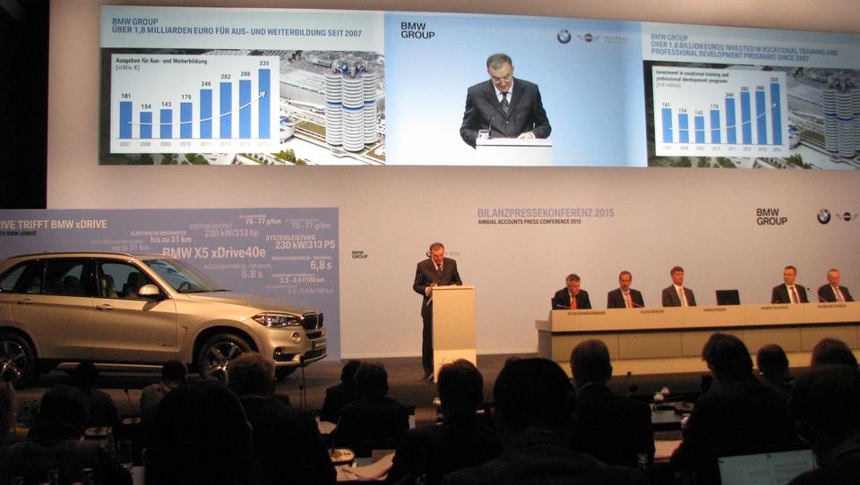 Skupina BMW: lani prvič prodali več kot dva milijona vozil