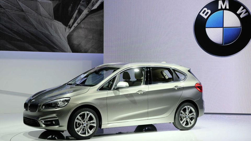 Vroče ženevske novosti - BMW 2 active tourer