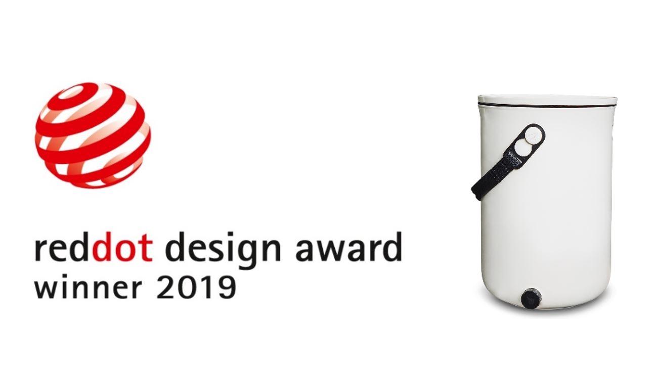Med prestižnimi nagrajenci Red Dot Award tudi Bokashi Organko 2 podjetja Skaza