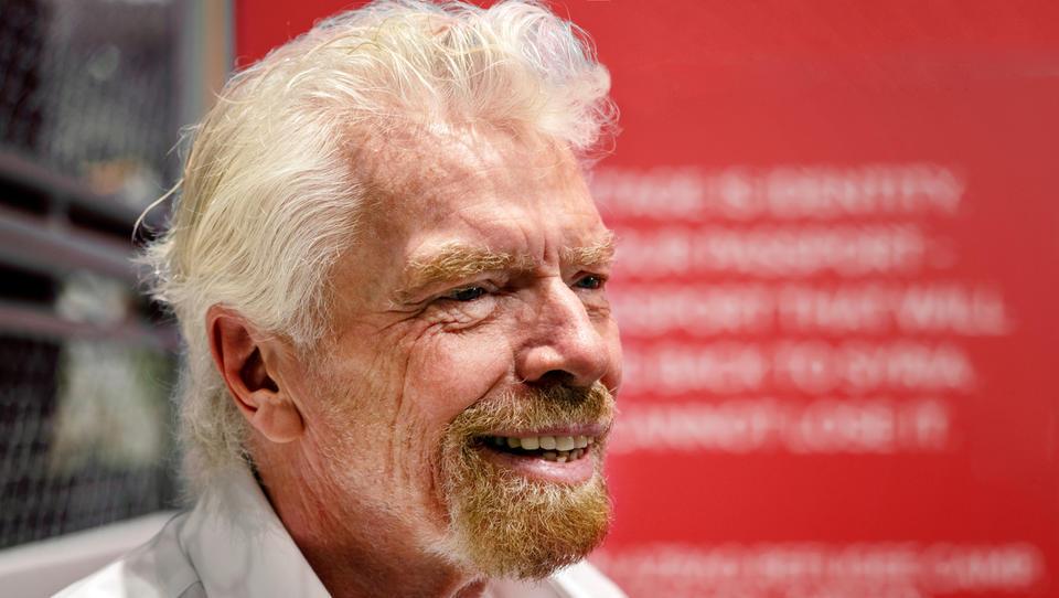 Turbulentni let Bransonovega Virgin Atlantica