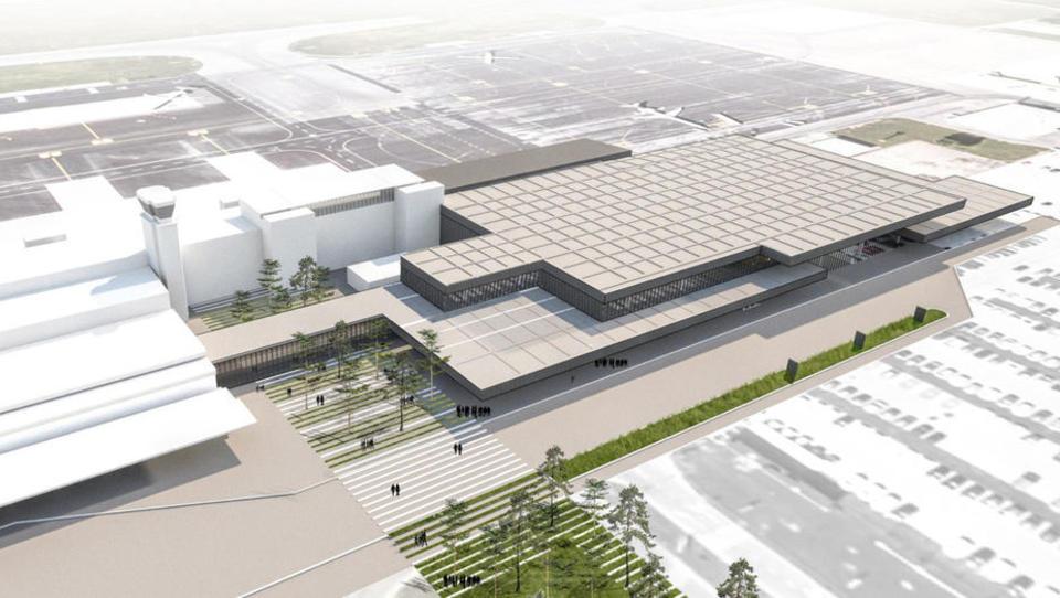 Prenova potniškega terminala na Brniku končno oddana!