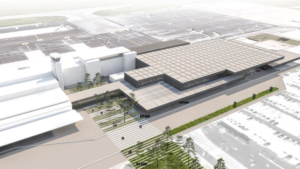Kljub ponovljenemu razpisu bo nov potniški terminal na Brniku nared do poletja 2021