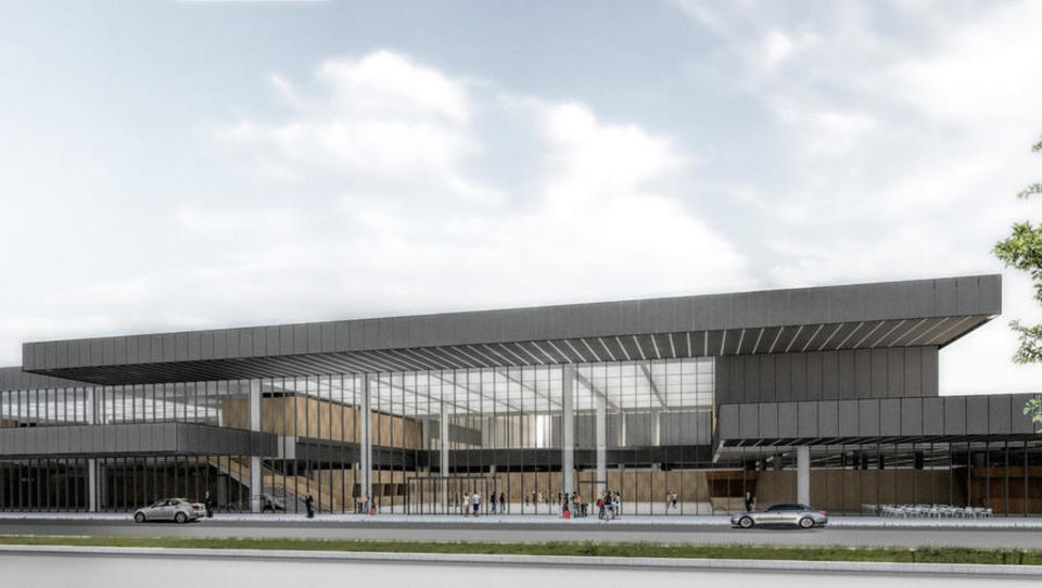 Položen temeljni kamen za začetek 21-milijonske investicije na Fraportu