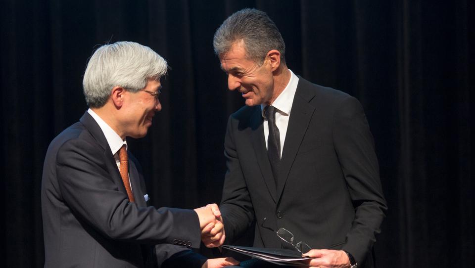 Stojan Petrič je novi častni konzul Južne Koreje