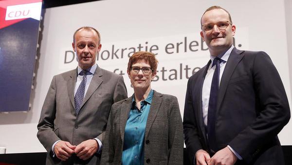Angela Merkel bo na čelu stranke dobila naslednika  fe346404417
