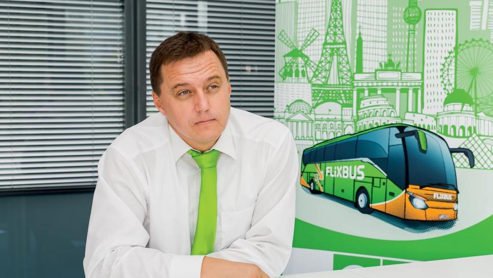 (Intervju) Dean Čebohin, Flixbus: Slovenski trg nas zanima in pri tem ne potrebujemo državnih subvencij