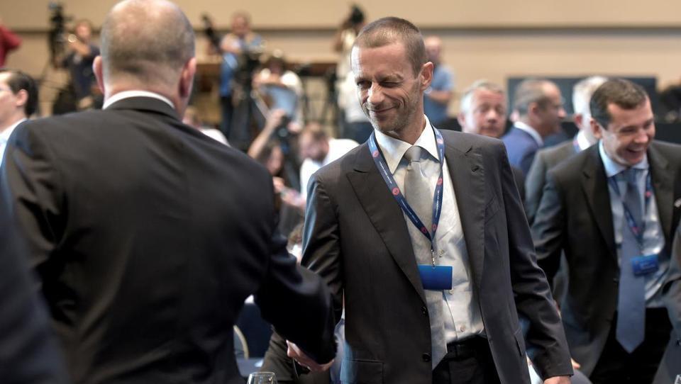 Čeferin postal prvi mož Uefe, gospodaril bo z dvema milijardama evrov