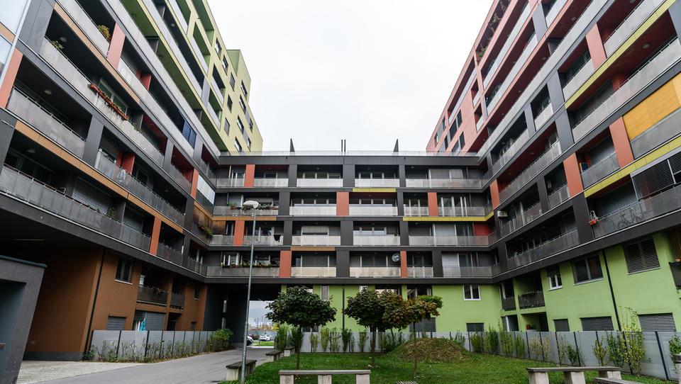 DUTB začela prodajo drugega sklopa stanovanj v Celovških dvorih. To so cene