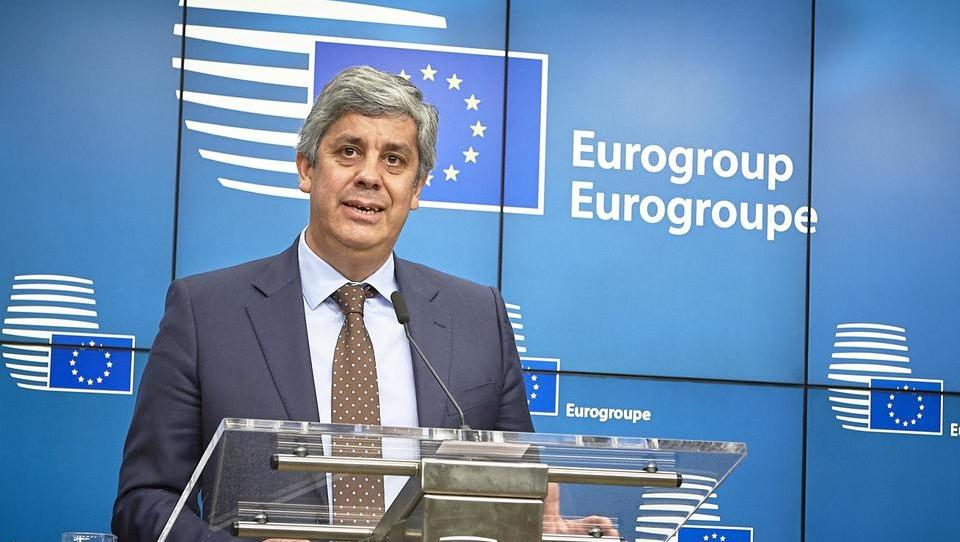 Na čelu evroskupine Portugalec Mario Centeno