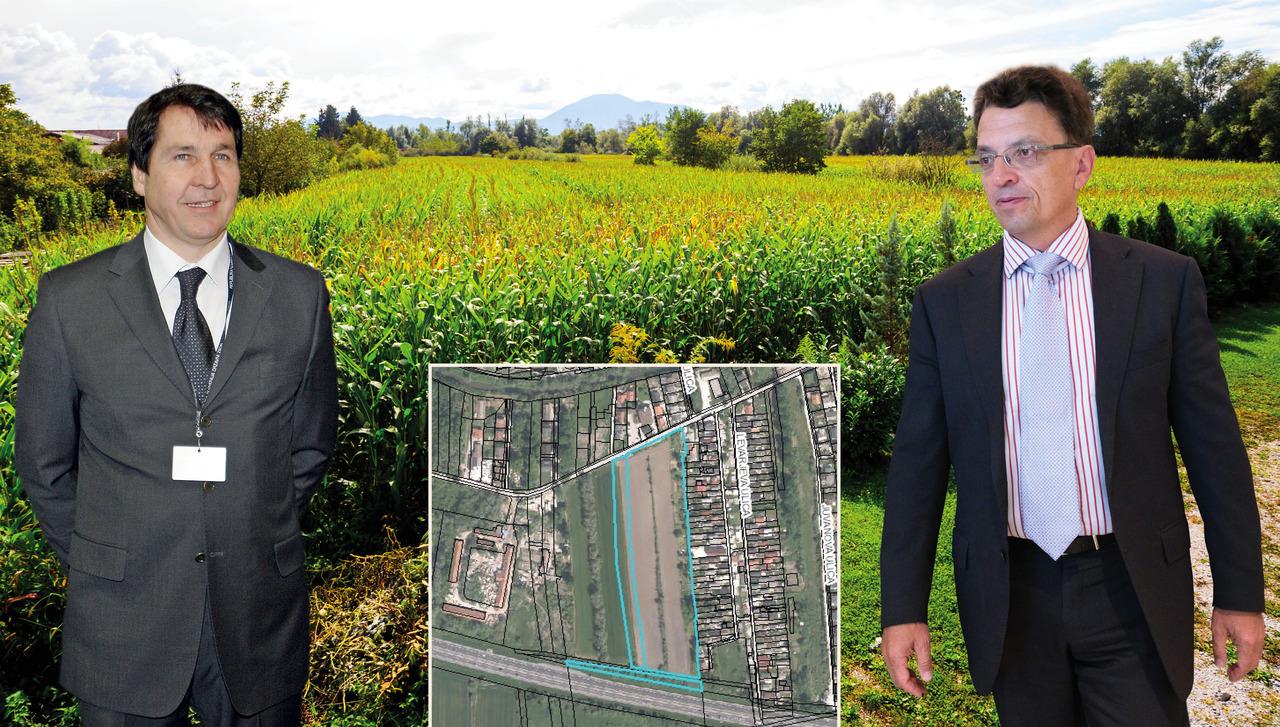 DUTB v boju za zemljišče na Barju premagala poslovneža Pišljarja