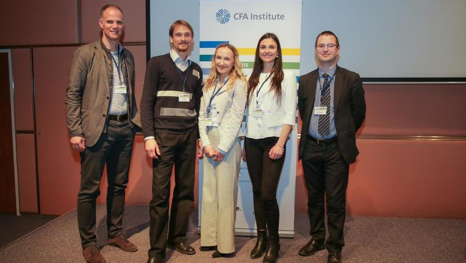 CFA Research Challenge še tretjič zapored na ljubljanski ekonomski fakulteti