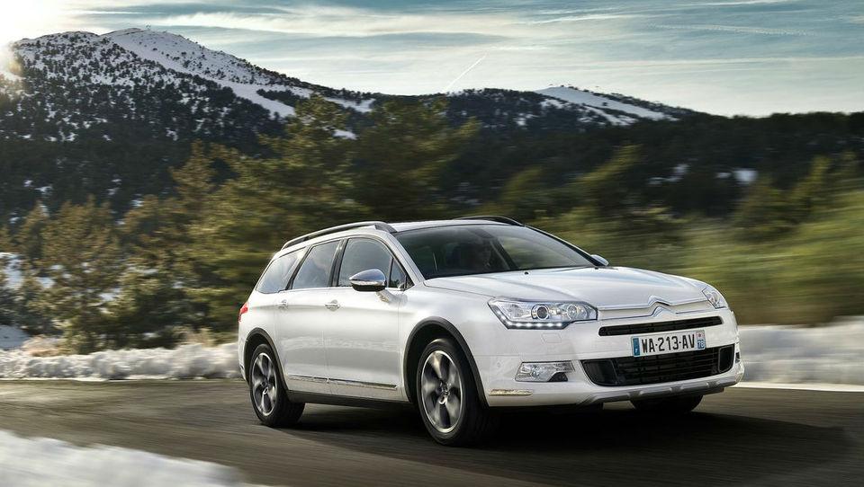 Citroën bo C5 nadgradil s terensko različico