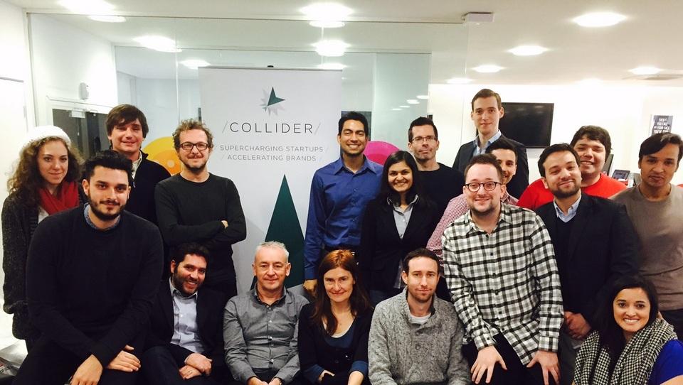Uspeh: ekipa Storesense se bo kalila v londonskem Colliderju